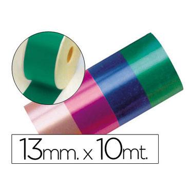 Cinta fantasía verde 13 mm. x 10 m.  15516