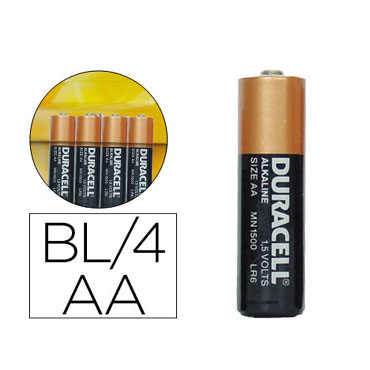 BL4 pilas alcalinas Duracell Simply LR6/AA 21313