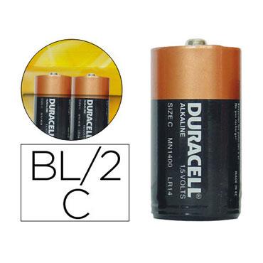 BL2 pilas alcalinas Duracell Plus Power C 21670