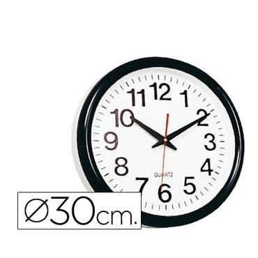 Reloj pared 28 cm. Q-Connect 22367