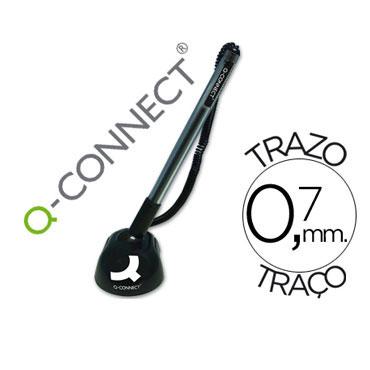 Bolígrafo con peana Q-Connect 35530