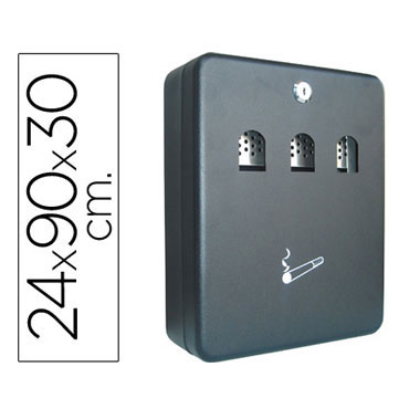 Cenicero de pared Q-Connect 37600