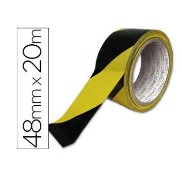 Cinta adhesiva seguridad 20 m. x 48 mm. Q-Connect 37696