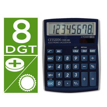 Calculadora CDC-80 azul Citizen 45300