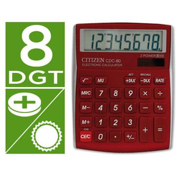 Calculadora CDC-80 burdeos Citizen 45320