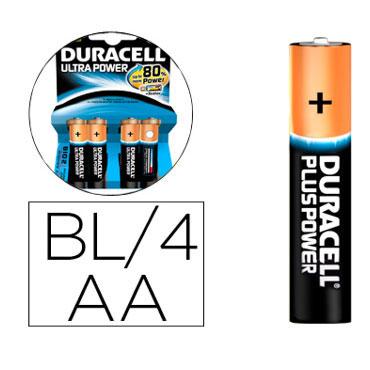 BL4 pilas alcalinas Duracell Ultra Power LR6/AA