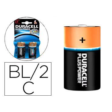 BL2 pilas alcalinas Duracell Ultra Power LR14/C 59557