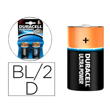 BL2 pilas alcalinas Duracell Simply LR20/D 59558