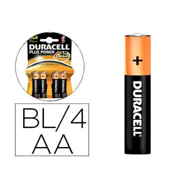 BL4 pilas alcalinas Duracell recargables LR6/AA
