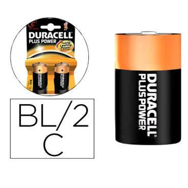 BL2 pilas alcalinas Duracell recargables C