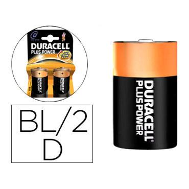 BL2 pilas alcalinas Duracell recargables D
