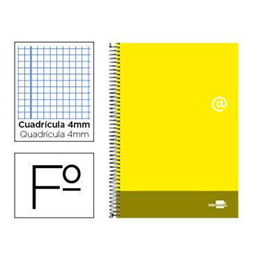 Cuaderno Discover amarillo Informática Liderpapel 77635