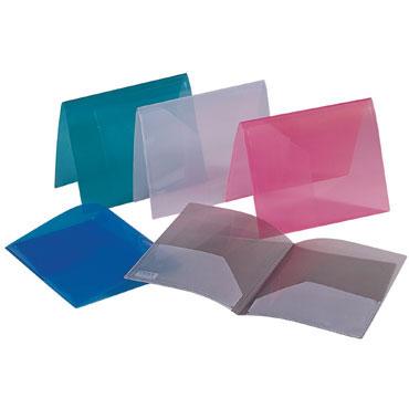 Dossier doble bolsa Din A-4 transparente Liderpapel 23003