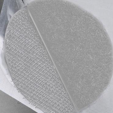 1100 puntos velcro bucle blancos 19 mm. Yosan 848VPAB19B