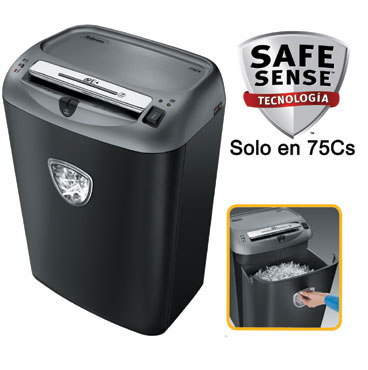 Destructora papel Fellowes 75Cs uso profesional &4675001