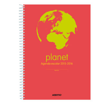 Agenda escolar Planet Additio A122
