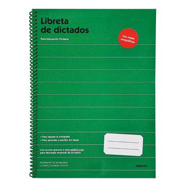 Libreta Dictados Primaria Additio D102