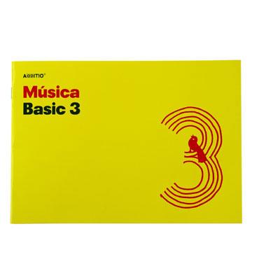 Bloc de música Basic 3 Additio M03