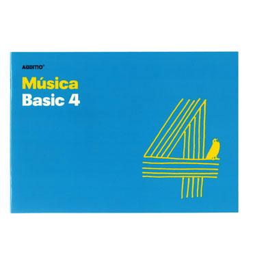 Bloc de música Basic 4 Additio M04
