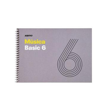 Bloc de música Basic 6 Additio M06