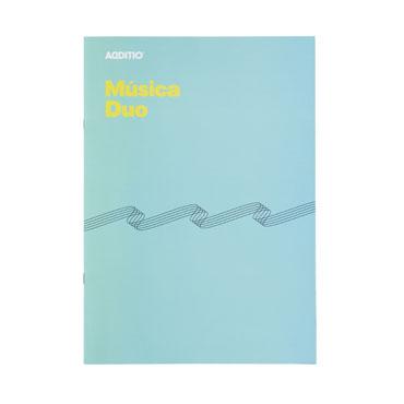 Bloc de música Duo Additio M08