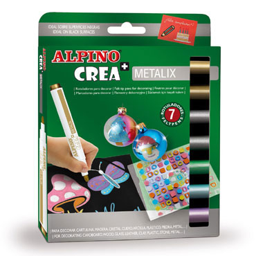 7 rotuladores Crea +  Metalix Alpino AR000134