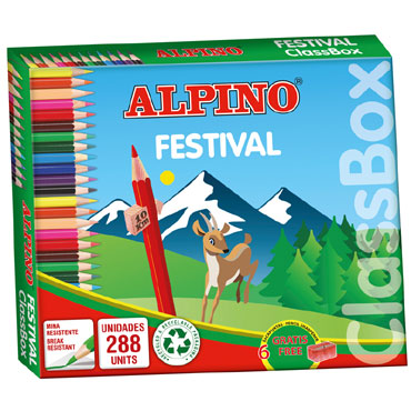 288 lápices de color Alpino C0131992
