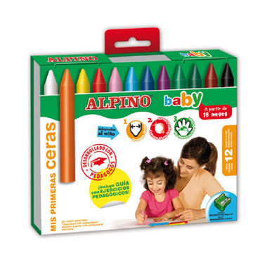 12 ceras Alpino Baby DA000060