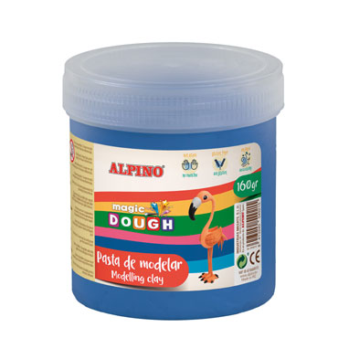 Magic Dough 160 g. azul Alpino DP000148