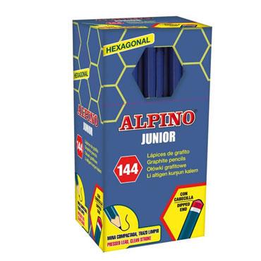 144 lápices de grafito Junior Alpino JU000014