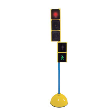 Semáforo con base y pica Amaya 411055