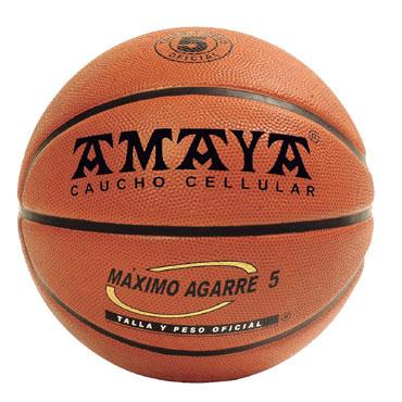Balón baloncesto caucho oficial Amaya 700217
