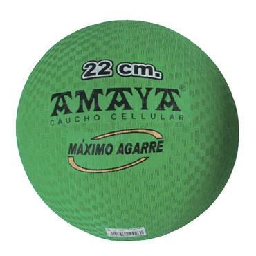 Balón balonmano caucho Alevín Amaya 700153