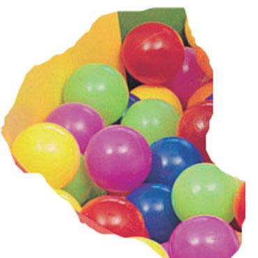 500 bolas piscina ø 75 mm.  Amaya 439910