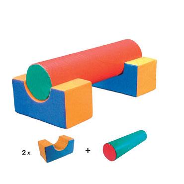 Set de 3 figuras foam - lona Amaya 460215