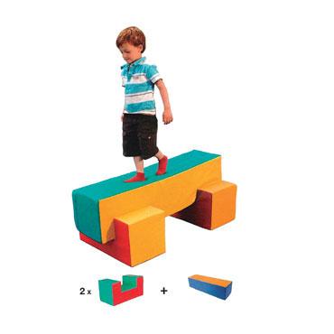 Set de 3 figuras foam - lona Amaya 460210