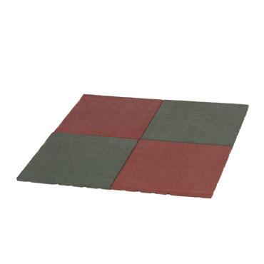 Baldosa suelo caucho 50x50x4 cm. Amaya 439922
