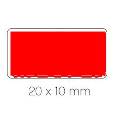 Gomet rojo 20 x 10 mm. Apli 04885