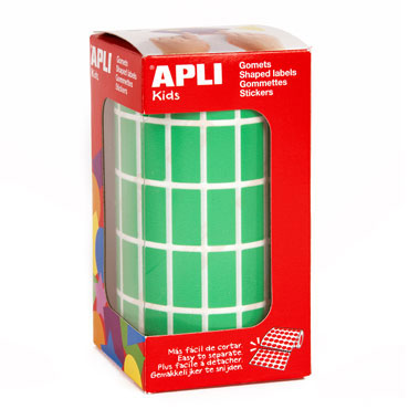 Gomet verde 20 x 10 mm. Apli 04886