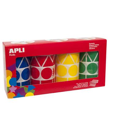 Gomet Figuras XL colores surtidos Apli 10753