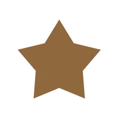 Gomet metal oro estrellas grandes y pequeñas Apli 11116