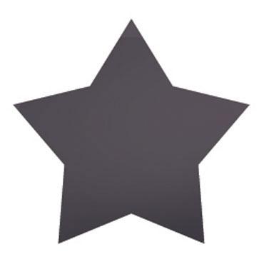 Gomet metal plata estrellas grandes y pequeñas Apli 11117