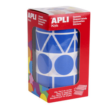 Gomet Figuras XL azul Apli 11162