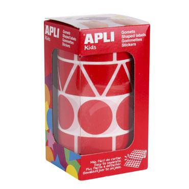 Gomet Figuras XL rojo Apli 11163