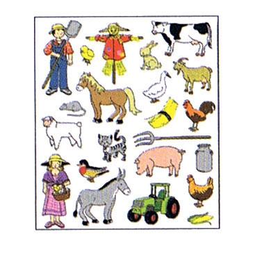 Gomet temático La granja Apli 11443