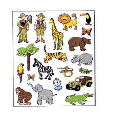 Gomet temático La selva Apli 11445