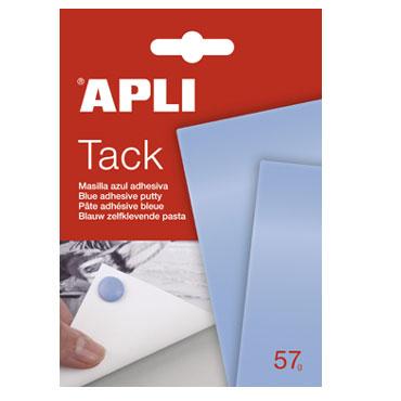 Masilla adhesiva 57 g. azul Apli 11703