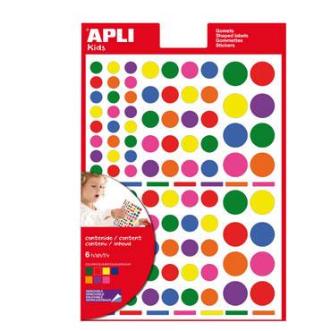 Gomet multicolor Redondo Apli 12970