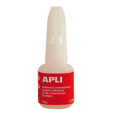 Cola instantánea 10 g. pincel Apli 13677