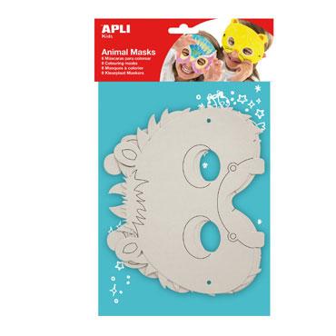 6 máscaras para decorar Apli 13684